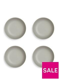 sabichi-set-of-4-grey-matt-stoneware-pasta-bowls