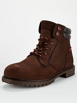 levis-suede-look-boots-dark-brown