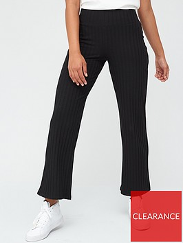 v-by-very-ribbed-wide-leg-trousers-black