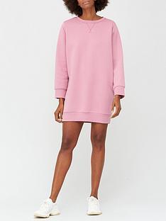 v-by-very-pleat-back-sweat-dress-blush