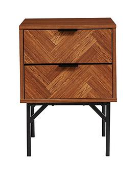lloyd-pascal-peterson-2-drawer-bedside-cabinet
