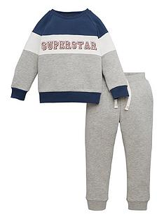 mini-v-by-very-boys-super-star-colour-block-jog-suit-grey-marl