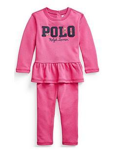 ralph-lauren-baby-girls-polo-sweat-outfit-dark-pink
