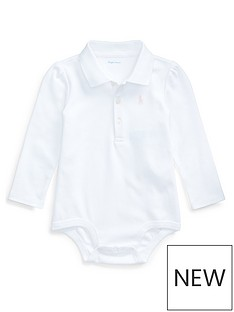 ralph-lauren-baby-girls-classic-polo-bodysuit-white