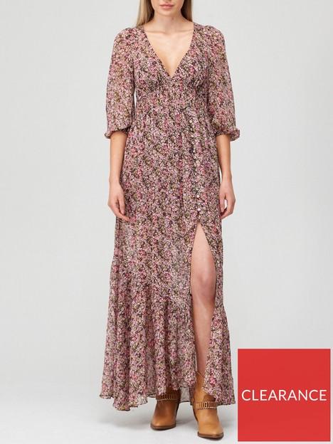 for-love-lemons-sadie-ditsy-floral-print-open-back-maxi-dress-pink