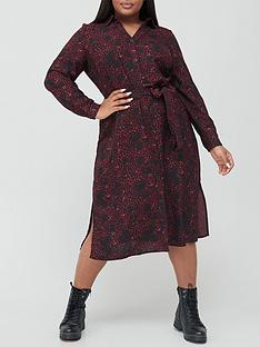 v-by-very-curve-printed-shirt-dress-multi