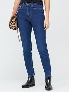 gestuz-astrid-high-rise-mom-jeans-blue