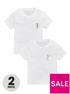 tinkerbell-girls-disneynbsp2-pack-motif-t-shirts-white