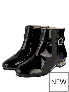 monsoon-girls-allegra-patent-diamante-heel-boot-black