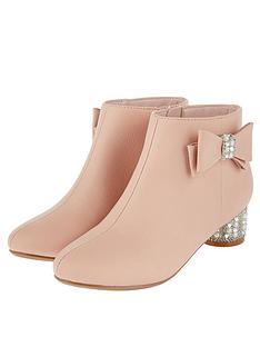 monsoon-girls-belinda-pearl-diamante-heel-boot-pink