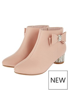 monsoon-girls-belinda-pearl-diamante-heel-boot-pink