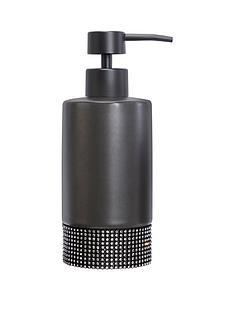 lloyd-pascal-sparkle-soap-dispenser-black