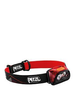 petzl-actik-core-450-lumen-red-headlamp