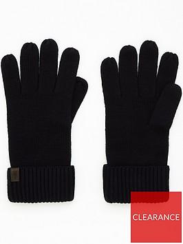 allsaints-mensnbspmerino-wool-ribbed-gloves-navy