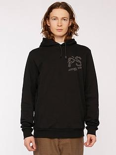 ps-paul-smith-chest-amp-back-logo-print-overhead-hoodie--nbspblack