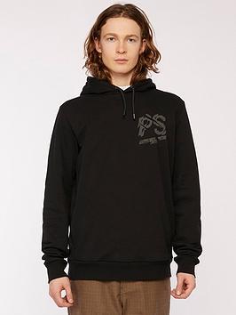 ps-paul-smith-chest-amp-back-logo-print-overhead-hoodie--nbspblack