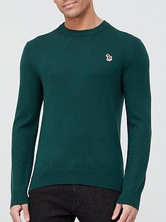 ps-paul-smith-zebra-logo-knitted-jumper--nbspgreen