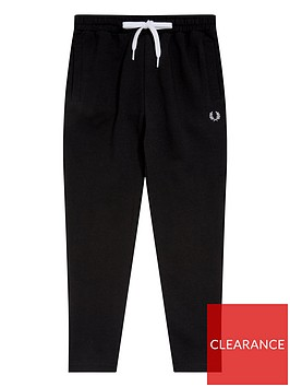 fred-perry-boys-track-pant-black