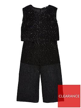 v-by-very-girls-sparkle-metallic-jumpsuit-black