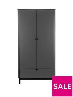 julian-bowen-chloe-2-door-1-drawer-wardrobe