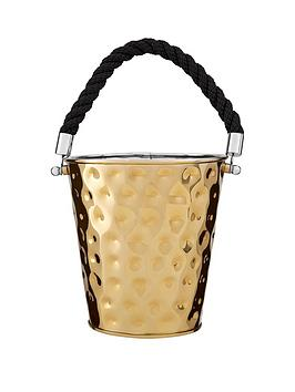 Product photograph showing Premier Housewares Miressa Medium Party Bucket With Rope Handle