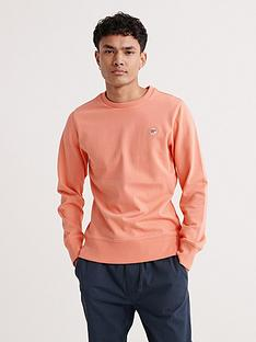 superdry-collective-crew-neck-sweatshirt-peach