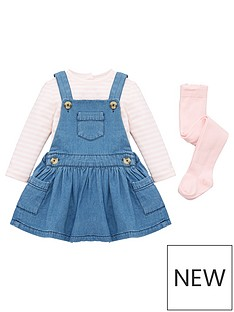 mini-v-by-very-girls-denim-pinafore-3-piece-set-navy