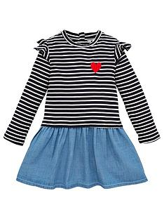 mini-v-by-very-girls-striped-twofer-dress-navy