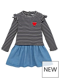 mini-v-by-very-girls-striped-twofer-dress-navy