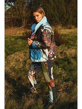 coster-copenhagen-horizon-print-padded-jacket-multi