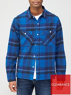 penfield-cordan-check-overshirt-blue