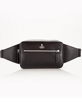vivienne-westwood-menrsquos-kent-leather-bumbag-black