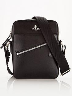 vivienne-westwood-menrsquos-kent-leather-cross-body-bag-black