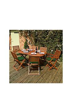 rowlinson-plumley-6-seater-dining-set-green