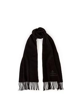 vivienne-westwood-vivienne-westwood-embroidered-logo-lambswool-scarf