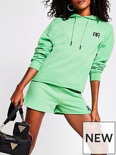 river-island-branded-crop-hoodie-green