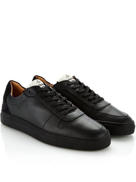 vivienne-westwood-menrsquos-apollo-leather-trainers-black