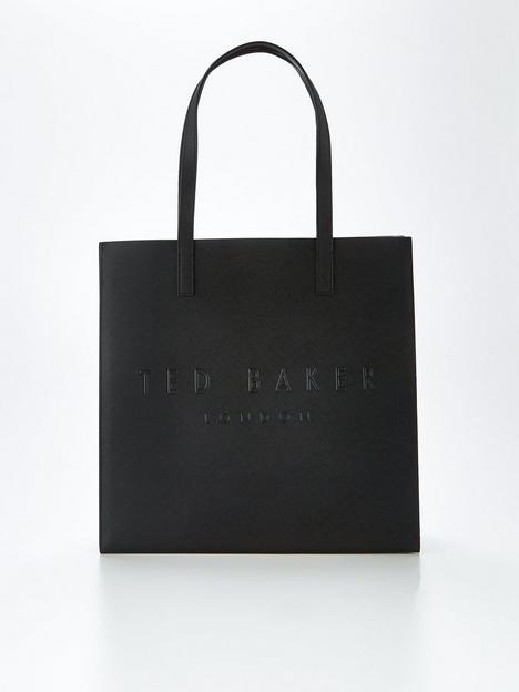 ted-baker-crosshatch-large-icon-bag-black