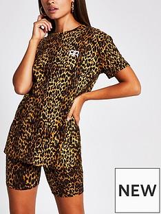 river-island-turnback-sleeve-branded-t-shirt-leopard-print