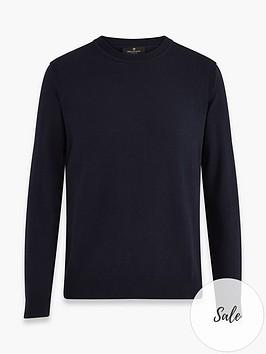 belstaff-moss-arm-patch-logo-knitted-jumper-dark-navy