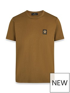 belstaff-chest-logo-t-shirt-brownnbsp