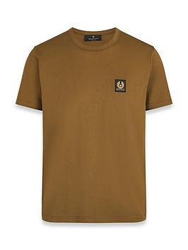 belstaff-chest-logo-t-shirt-brownnbsp