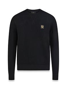 belstaff-chest-logo-sweatshirt-black