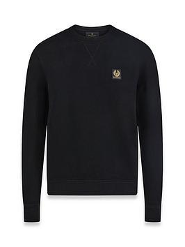 belstaff-chest-logo-sweatshirt-black