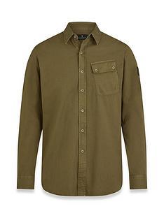 belstaff-pitch-oxford-shirt-olive