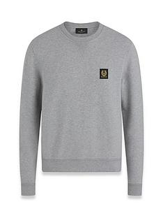 belstaff-chest-logo-sweatshirt-grey