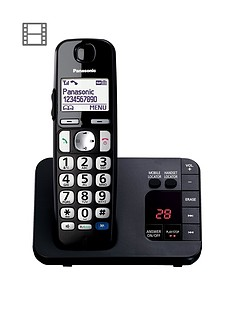 panasonic-panasonic-kx-tge720eb-big-button-dect-cordless-telephone-with-nuisance-call-blocker-digital-answering-machine-single-handset-pack-black