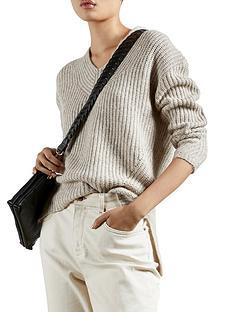 ted-baker-v-neck-sweater-camelnbsp