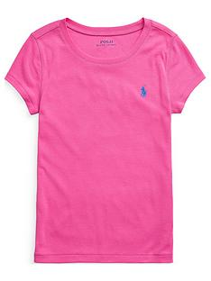 ralph-lauren-girls-classic-short-sleeve-t-shirt-pink