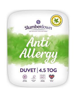 Slumberdown Anti-Allergy 4.5 Tog Double Duvet